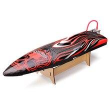 Eachine Eye500 50 cm RC Barco Sin Escobillas de Alta Velocidad de más de 60 KM/H Sin Sistema FPV Barco de Regatas