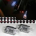 2 Шт. Автомобилей Двери Свет Проектора Призрак Тени Свет Для A1 A3 A4 B6 B8 A6 C5 80 A7 TT Q3 Q5 Q7 RS4 RS5 RS6 S4 S5 S6 S7 RS Sline