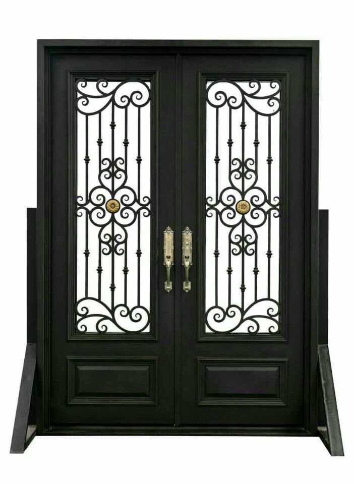 Hench custom design luxury wrought iron entry doors DDU shipping to USA  home HC d4Compare Prices on Entry Door Design  Online Shopping Buy Low Price  . Luxury Entry Doors Design. Home Design Ideas