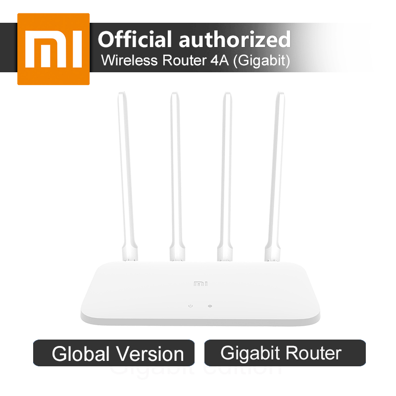 Original Global Version Xiaomi Router 4A Gigabit Edition 128MB DDR3 2 4GHz 5GHz Dual Band 1167Mbps