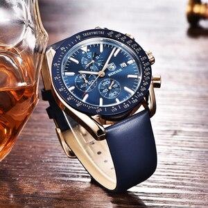 Image 5 - BENYAR 2018 nowy mężczyzna zegarka biznes pełny stalowy kwarcowy Top marka luksusowe dorywczo wodoodporny sport męski zegarek Relogio Masculino