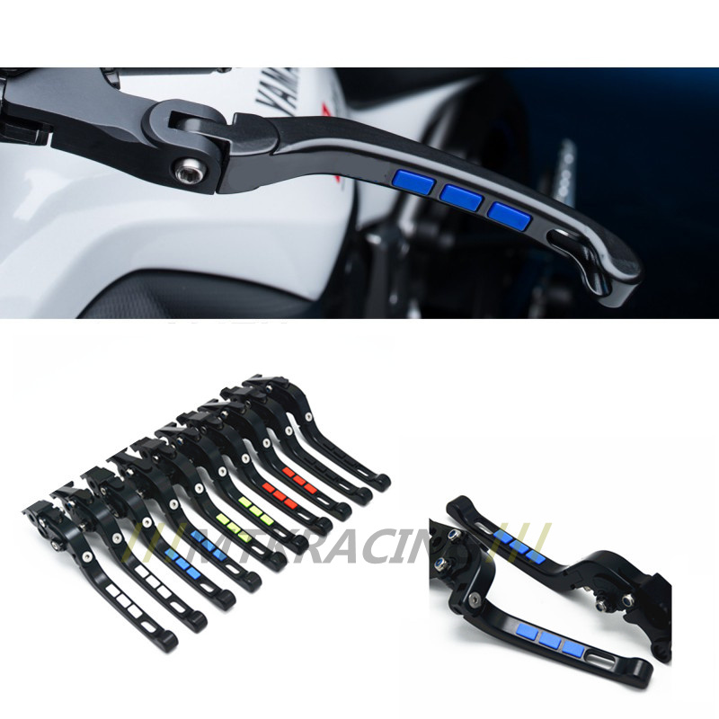 Free shipping For SUZUKI DL650/V-STROM GSR600 Motorcycle Modified CNC Non-slip Handlebar single-Folding Brakes Clutch Levers