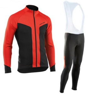 Image 4 - NW 2019 Breathable Cycling Clothes Set Northwave Long Sleeve Summer Jersey men suit outdoor sportful bike MTB clothing paded