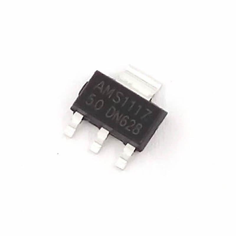 10Pcs AMS1117-3.3 LM1117 3,3 V 1A SOT-223 Spannungsregler ZBDE