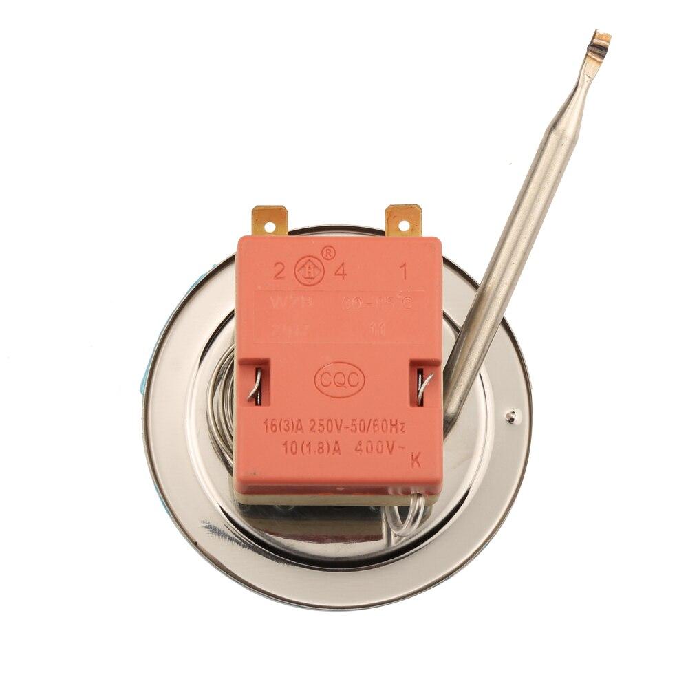Termostato capillare NC a 2 pin 30-85 centigradi 2 piedi Interruttore - Strumenti di misura - Fotografia 3