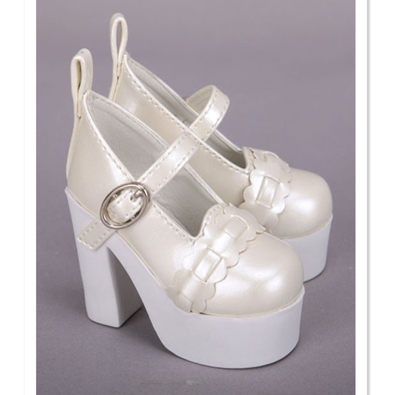 US $20.69 10% OFF|New Design High Heel Doll Shoes for Dolls,Supper Dollfie Leather Boots Mini Shoes 13 14 BJD Doll Shoes for Dolls Accessories in