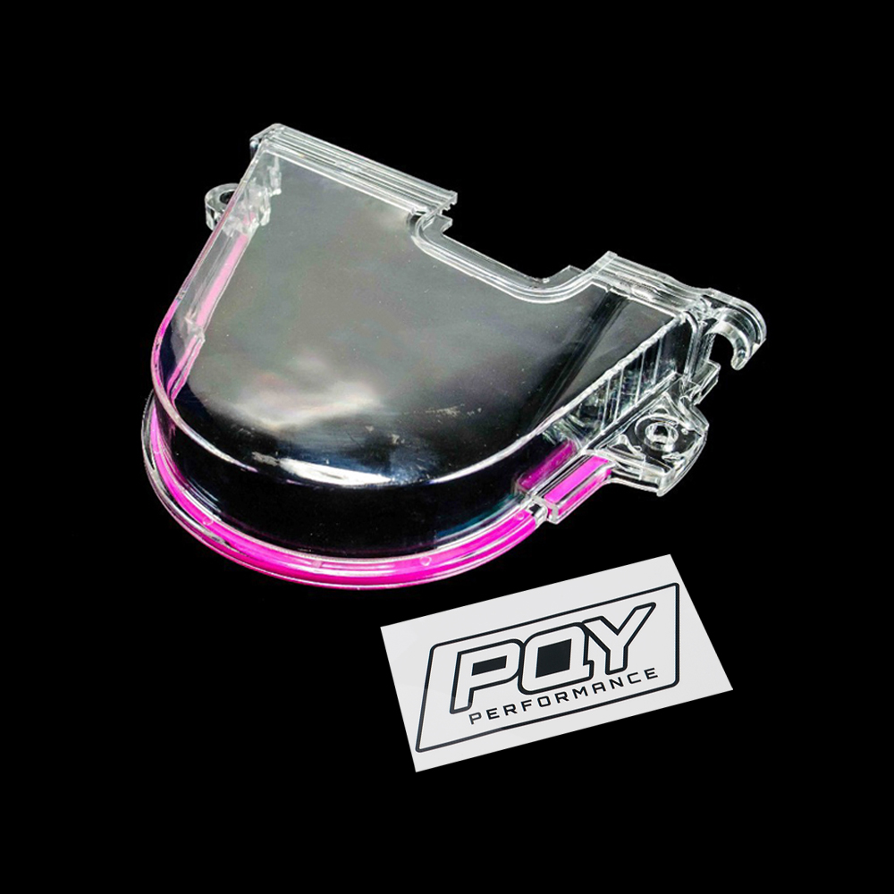 Wlr Racing Clear Cam Gear Timing Belt Cover Turbo Pulley For Honda Civic 96