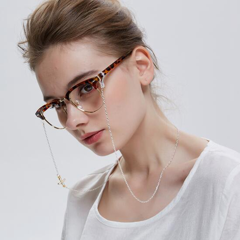 Korean Chic Women Retro Glasses Chain Sunglasses Neck String Cord Retainer  Strap Eyeglasses Chains Flower Eyewear Lanyard Holder