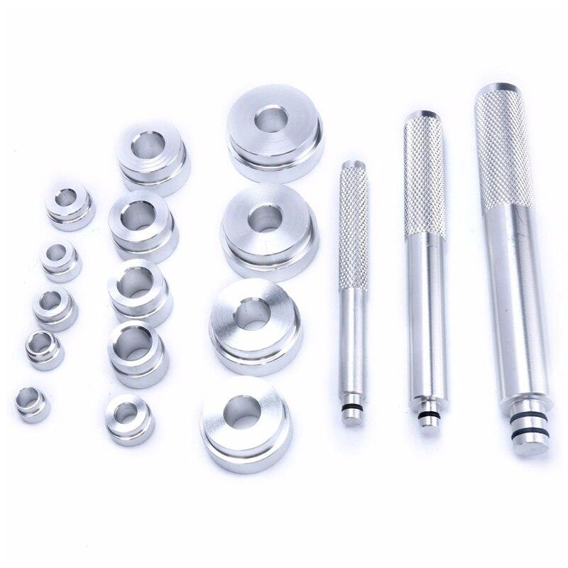 17pcs Aluminum bearing seal driver bearing race driver set Installation Removal Bush Removal Tool Kit