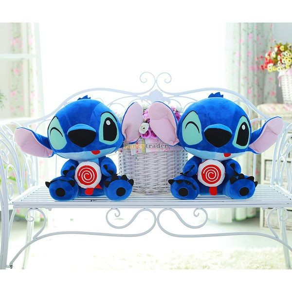 Fancytrader 26\'\' 65cm Giant Stuffed Soft Plush Lovely Big Funny Stitch, Free Shipping FT50691 (8)