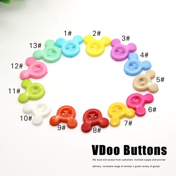 Gratis shipping200pcs botón botones monopolio al por mayor DIY color ...