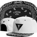 Branco Cayler Sons chapéu de aba larga skate hip hop de beisebol snapback casquette 5 cores