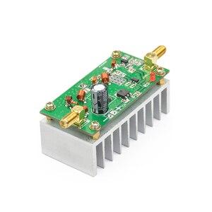 Image 2 - Aiyima 7 واط FM الطاقة Amplefier HF مكبر للصوت مجلس 65 110 ميجا هرتز الإدخال 1 ميجا واط مع بالوعة الحرارة