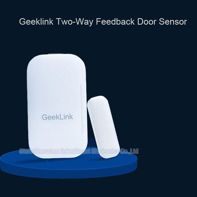 Geeklink puerta sensor, detección de ventanas y puertas de apertura/cierre, información en tiempo real a pensador, wifi remoto control by ios android smart hom