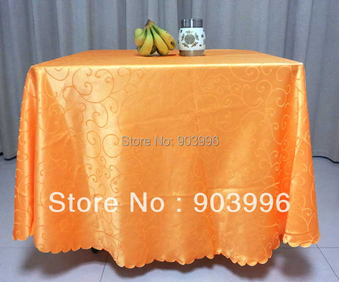 160*160cm-Hotel cloth tablecloth restaurant tablecloth restaurant tablecloth table cloth art fangyuan antependium fabric