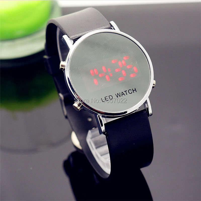 whole sale Fashion women man World Sports Digital fashion gift watches for lady dress Relogio couple children led watch