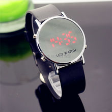 HOTIME luxury brand Fashion women man World Sports Digital fashion gift watches for lady dress Relogio couple children led watch