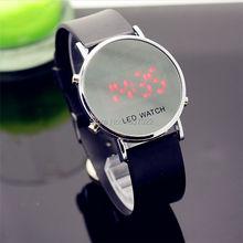 whole sale Fashion women man World Sports Digital fashion gift watches for lady dress Relogio couple children led watch