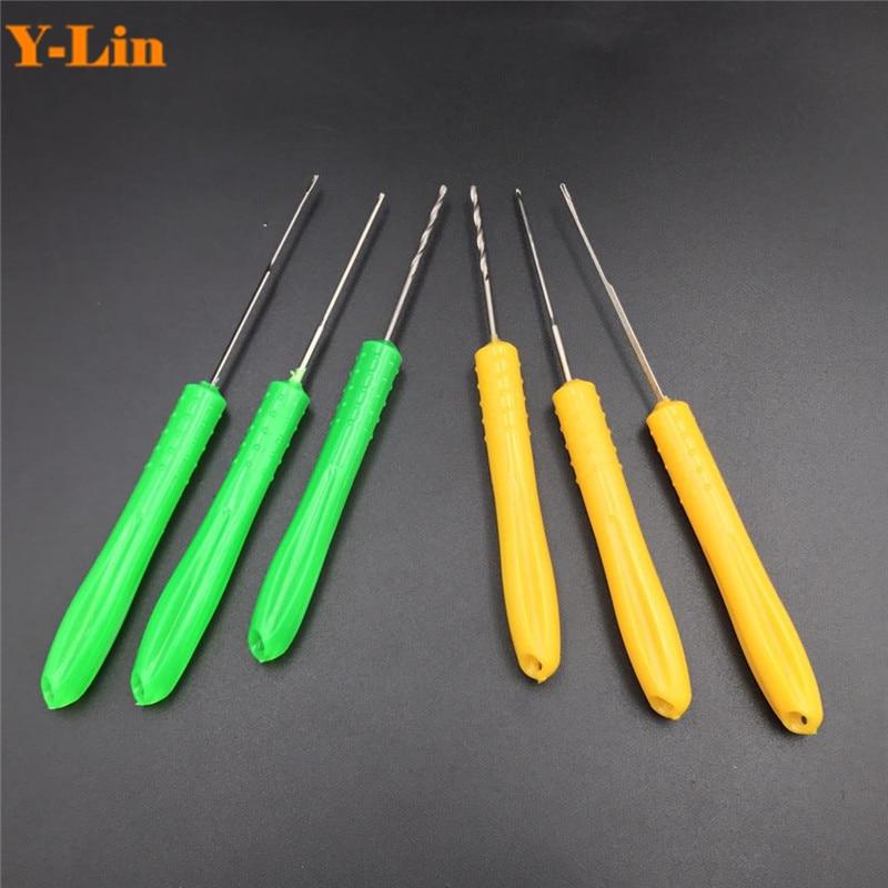 2pcs Baiting Splicing Needle Fishing Bait Needle; Boilie Needle; Hook Needle
