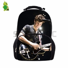 Pop Star Shawn Mendes Backpack for Teenage Boys Girls School