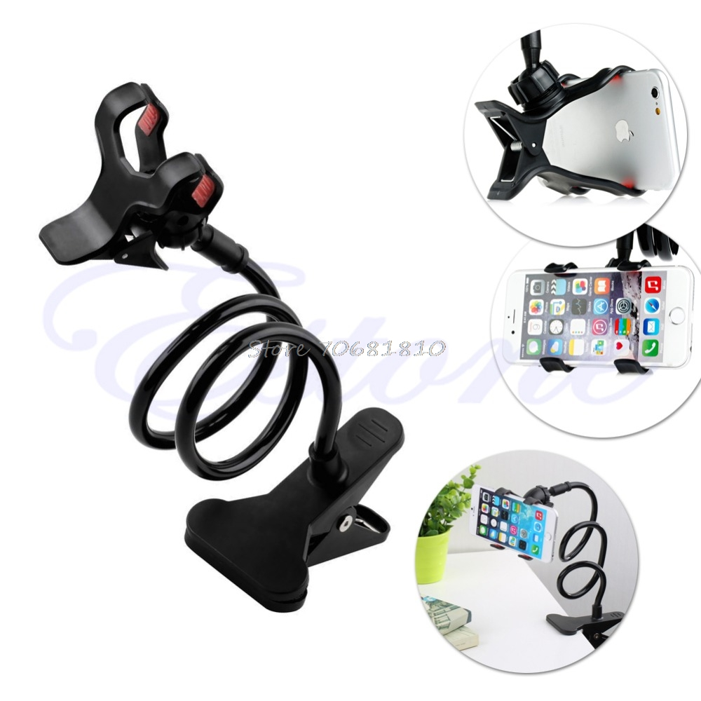 Universal Lazy Bed Mount Car Stand Desktop Holder For Cell Phone Long Arm #R179T#Drop Shipping