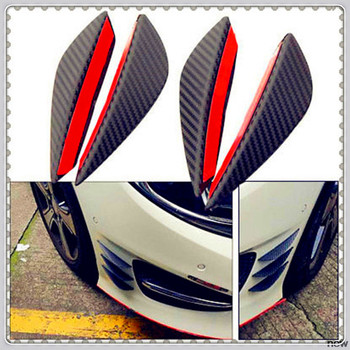 Car Bumper Lip Fin Splitter Spoiler Canard Valence for Mercedes Benz E53 C63 C43 C-Class AMG GL550 F800 A200 ML500 ML350 GL450 image
