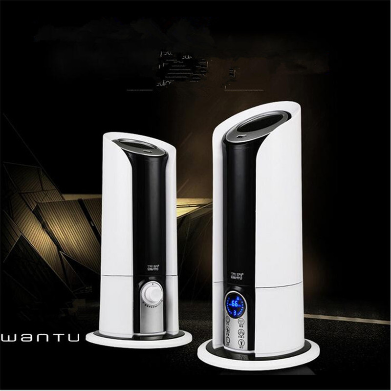 220V 5L Touchscreen Intelligent Automatic Power-off Air Conditioning Humidifier Purifying Mute Remote Control Mute EU/AU/UK Plug