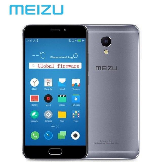 """Оригинальный Meizu M5 Note 3 ГБ 32 ГБ Мобильный Телефон Android Helio P10 Octa Ядро 5.5 """"13MP Отпечатков Пальцев 4000 мАч сотовой M621Q"""