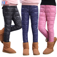 Kindstraum 2017 New Kids Winter Pants Cotton Fashion Warm Trousers For Boys Girls Children Winter Casual