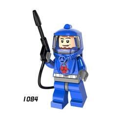 Один супер героев Звездных войн 1084 оборонительные Команды Мини Строительные блоки Фигура Кирпич игрушка подарок для ребенка