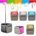 Мини-Динамик Радио Беспроводной Портативный Micro USB Стереодинамики Ubwoofer Колонки Super Bass Спикер FM Радио Приемник