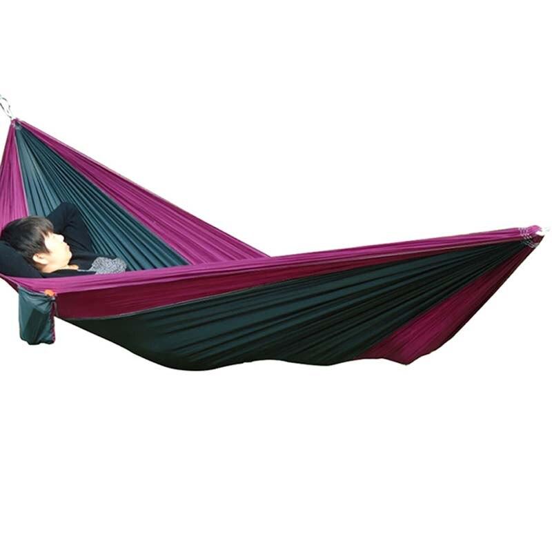 Portátil de viaje de camping al aire libre paracaídas nylon Telas ...