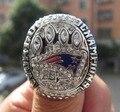 HIGH QUALITY Free Shipping !replica 2015  2014 New England Patriots XLIX Super Bowl Championship Ring BRADY MVP Custom Ring