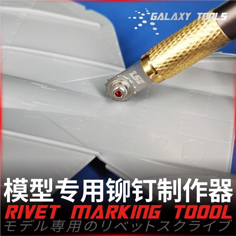 Ferramentas De GALÁXIAS Rivet Criador Ferramenta Marcação & Cabo da Faca Modelo Hobby Craft Acessórios Ferramenta de Construção