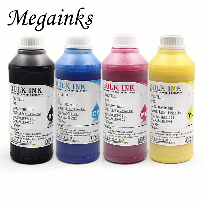 400ML / Set Digital Textile Ink for Roland for Mimaki for Mutoh for Konica DX3 DX4 DX5 DX6 DX7 DTG Flatbed Printer Ink Kit