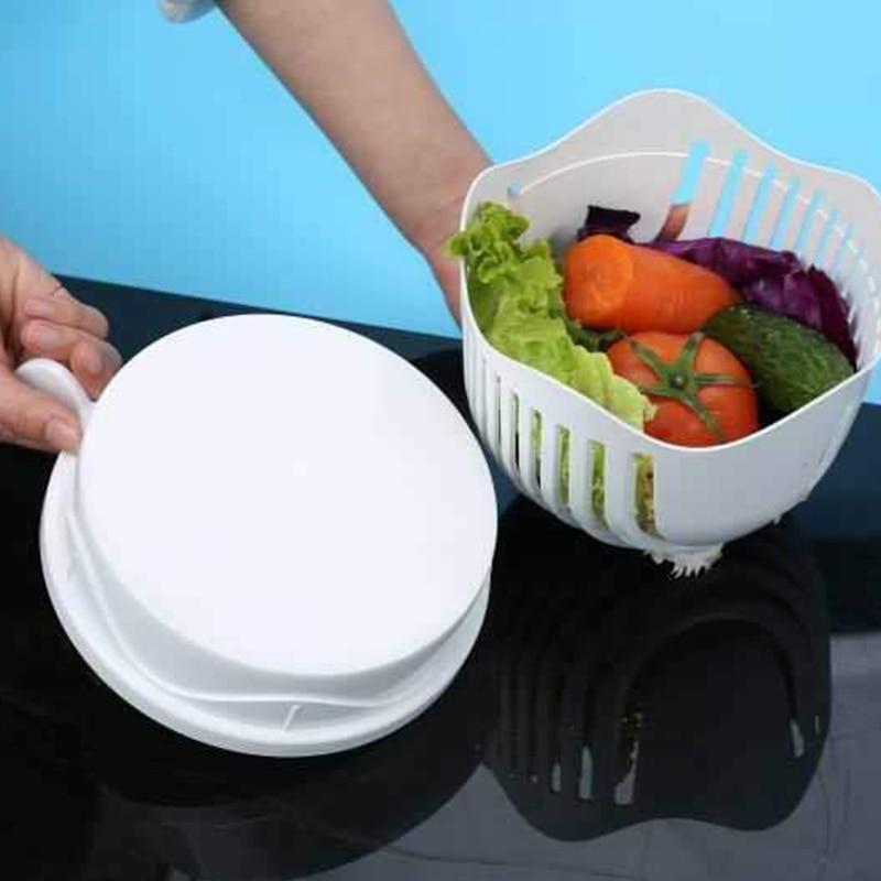 Lekoch alta calidad fácil ensalada frutas vegetales lavadora DIY ...