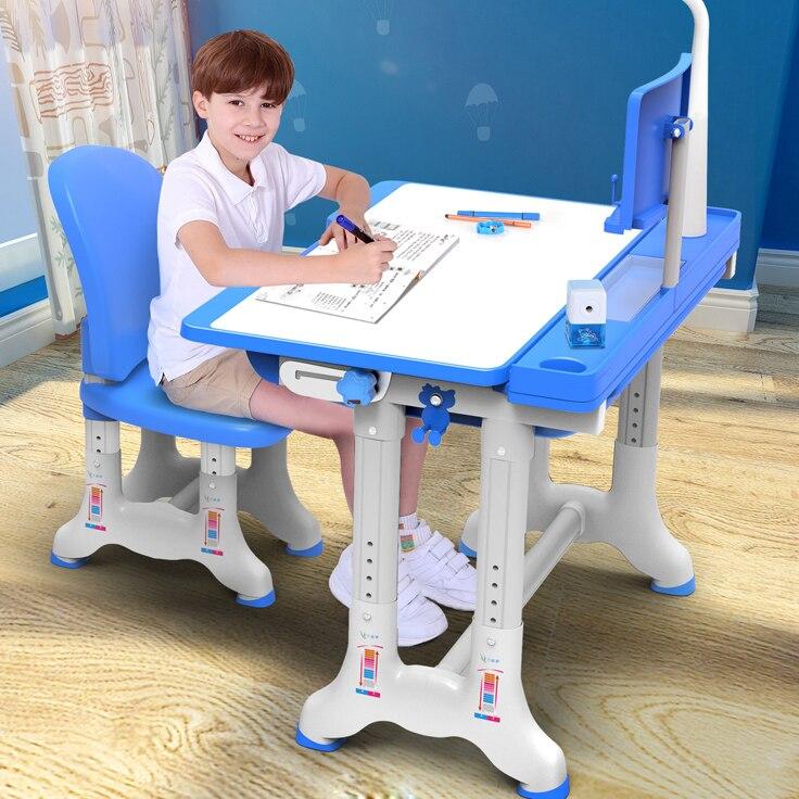 Multifonctionnel Enfant Étude Table Ergonomique Enfants Bureau D'aide Aux Devoirs Étudiant Réglable Bureau Et Chaise Combinaison