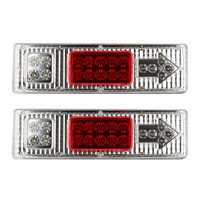 AUTO Led Trailer Tail Lights LED Rear Turn Signal Truck Trailer Lorry Stop Rear Tail Indicator