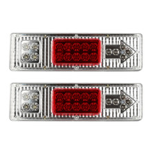 AUTO Led Trailer Tail Lights LED Rear Turn Signal Truck Trailer Lorry Stop Rear Tail Indicator Light Lamp 2 pcs Car Styling Au26