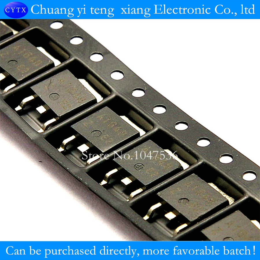 2sa1648 5a 100v 18w Marking A1648 To 252 Pnp Transistor 10pcs Parallel 250 Switch Series And Circuits Lot In Integrated From Electronic Components Supplies On