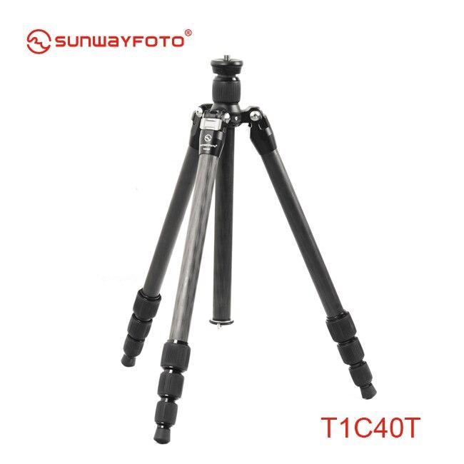SUNWAYFOTO T1C40T Carbon Fiber Professional font b Camera b font font b Tripod b font Trepied