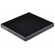 Portable External Slim USB 2.0 DVD-ROM Optical Drive CD DVD ROM Disk Reader Player For Desktop PC Laptop PC Tablet Promotion