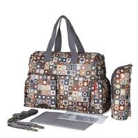 5 PCS SET 2016 Baby Nappy Bags Diaper Bag Mother Shoulder Bag Fashion Maternity Mummy Handbag