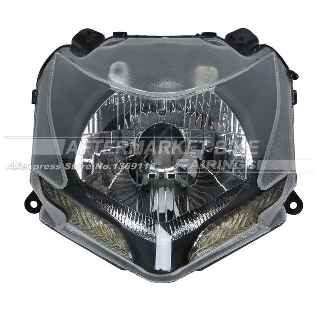 Motorcycle Headlight Set For Ducati 848 Streetfighter 2009 2010 2011 2012  Motorbike Head Light Front Lamp Assembly-in Headlights from Automobiles &