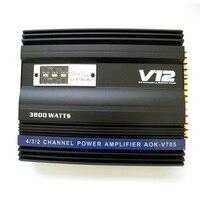 3600W High Power 12V Car Amplifier 4 Way 4 Channel