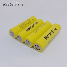 MasterFire 18pcs/lot 100% Original LGDBHE41865 2500mAh HE4 Battery 18650 3.7V power electronic batteries 20A discharge For LG