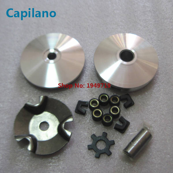 US $26 0 |motorcycle/scooter JOG50 BWS50 ZUMA50 variator assembly clutch  pulley driven kit for Yamaha 50cc BWS JOG 50 spare parts on Aliexpress com  |