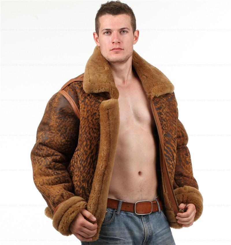 shearling B3 giacca ambientale 7