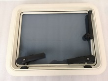 540*423mm Rectangular Marine Grade Nylon Boat Deck Hatch Window With Tempered Glass and Trim Ring