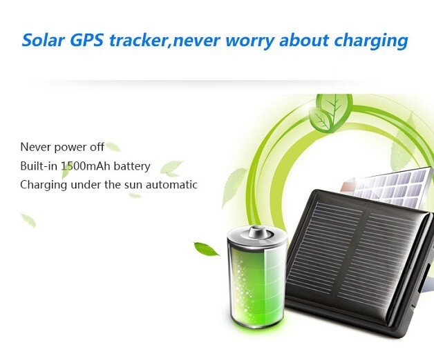 Free Shipping Solar Pet GPS Tracker V26 Cow Tracking Device Wireless
